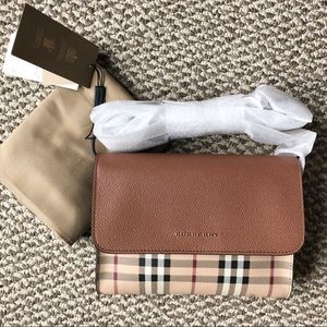 """Authentic"" Burberry  Loxley small crossbody"